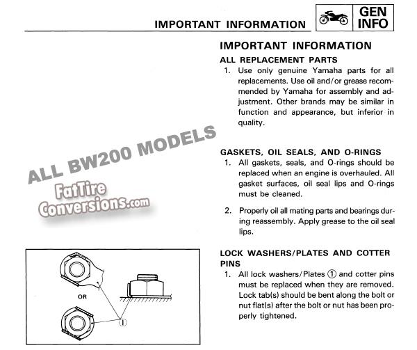 Stupendous Fattireconversion Com 603 225 2779 X 254 Yamaha Bw200 Service Wiring Database Gramgelartorg