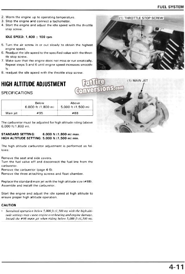 FatTireConversion com - 603-225-2779 x 254 - Honda Fat Cat 200